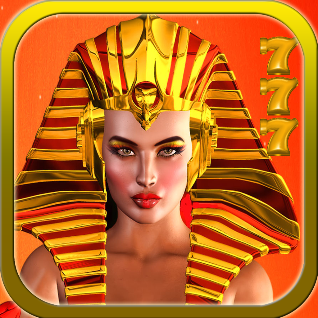 Pharaoh's Queen Slots Free - Casino 777 Slot Simulation Game