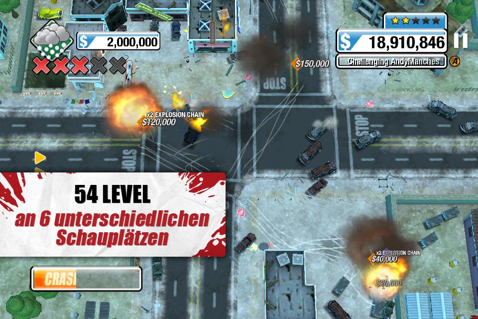 Burnout™ CRASH! iPhone, iPad Screenshot