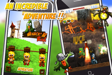 Screenshot Whack&#8217;N Roll &#8211; An awesome funny game