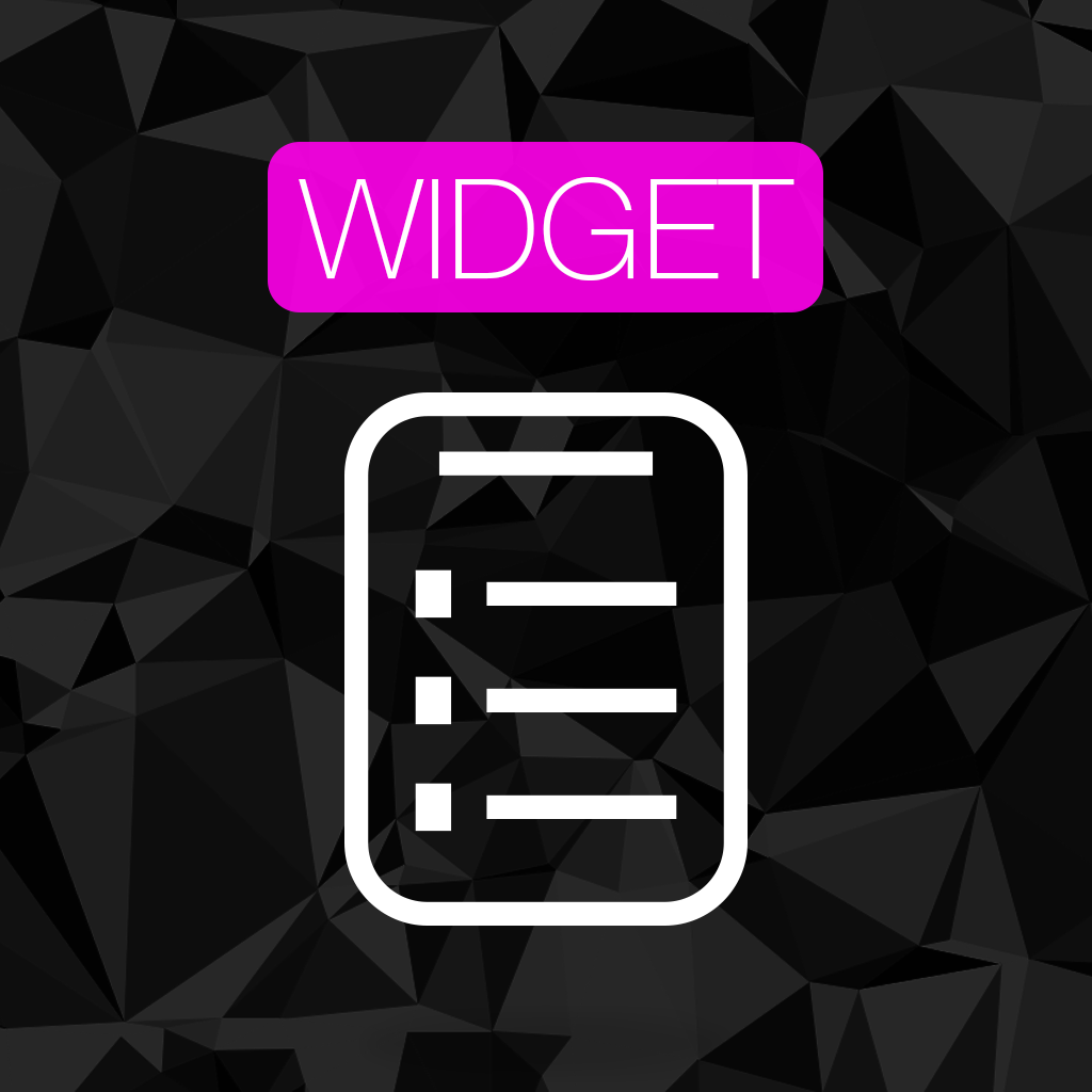 NotiNote Widget — set text at today notification center without ...